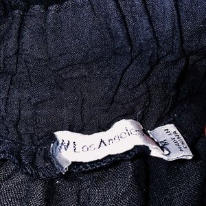 Johnny Was Pants & Jumpsuits - Johnny Was black side split cotton pants in medium